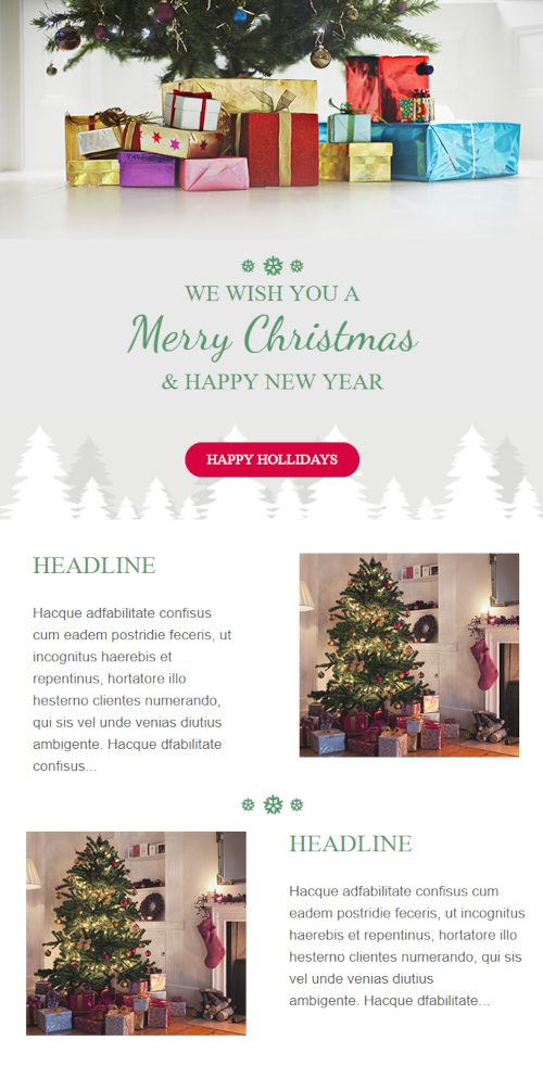 email template christmas 3